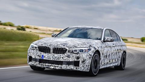 Der neue BMW M5 im Tarnkleid