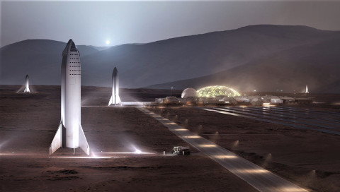 Elon Musk will 2028 seine Mars-Basis errichten