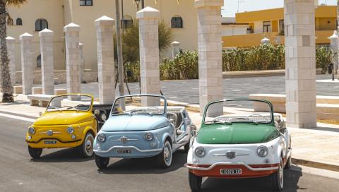 Fiat 500 Jolly Spiaggina Icon-e: So fährt der Fiat-Oldtimer mit E-Motor