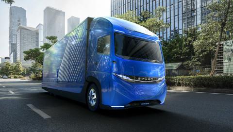 Der E-LKW von FUSO ist für den Stadtverkehr gedacht