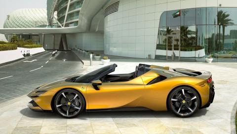 Ferrari SF90 Spider mit 1.000 PS: So sieht das extremste Serien-Cabrio der Welt aus