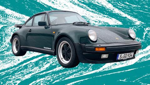 Mit dem Porsche 911 Turbo auf der Suche nach dem Turbo-Loch