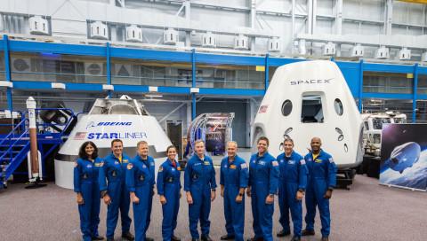 Das sind die Astronauten, die mit SpaceX ins All fliegen