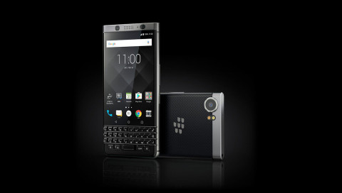 Das BlackBerry Motion hat keine Hardware-Tastatur