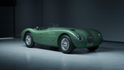 Jaguar C-Type Continuation: Seltene Oldtimer-Legende wird neu aufgelegt