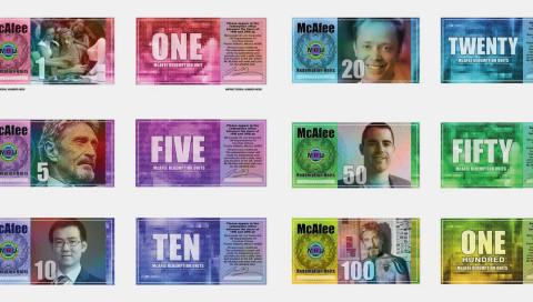 John McAfee will sein eigenes Fiatgeld herausbringen
