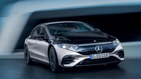 Mercedes EQS: Ein E-Auto zwischen S-Klasse und Ufo
