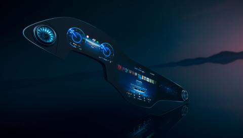 Mercedes stellt futuristischen Hyperscreen vor, der so breit ist wie das Auto selbst