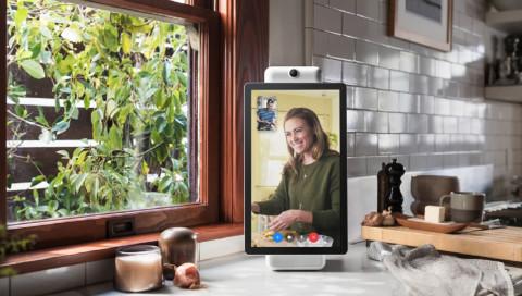Portal: Facebook stellt sein Gadget für das smarte Wohnzimmer vor