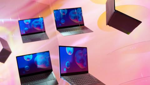 """Samsung """"Blade Bezel"""": Bei diesem Laptop sitzt die Kamera unter dem Display"""