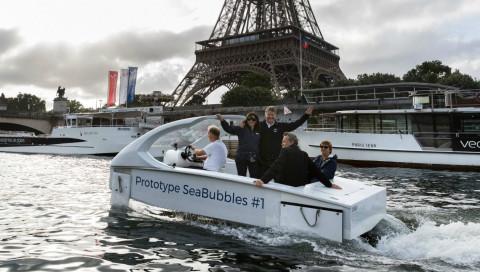 SeaBubbles: Das Uber für Flüsse geht in die Testphase