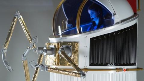 Ein Miniraumschiff könnte den Raumanzug ersetzen