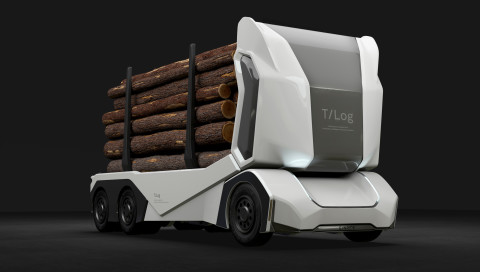 Der erste selbstfahrende Holzlaster ist da!