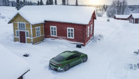 Porsche Taycan 4S: Der E-Sportler im Extremtest in Lappland