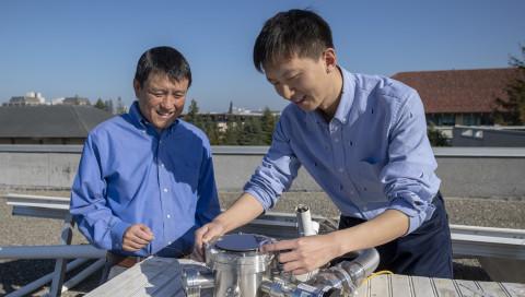 Neues Solarmodul macht Strom und kühlt gleichzeitig das Haus
