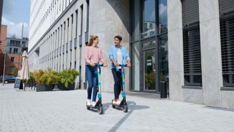 Sind E-Scooter die neuen Leihräder?