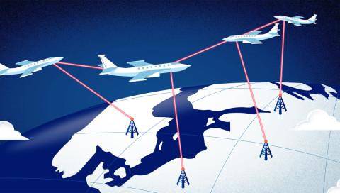 Dieses Münchner Startup entwickelt einen Laser für Internet-Drohnen