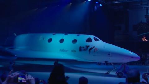 Virgin Galactic stellt sein neues Raumschiff vor