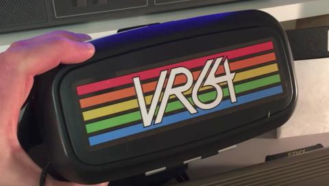 Diese VR-Brille für den Commodore 64 kann jeder nachbauen