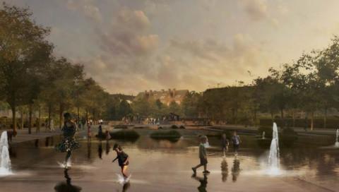 Kopenhagen trickst den Klimawandel mit diesem Park/See aus