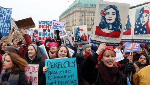 Nach dem Women's March sagt Johnny Haeusler: Auf sie mit Gebrüll!