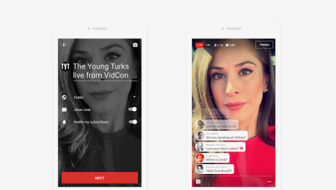 YouTube lässt euch bald direkt vom Smartphone streamen
