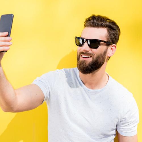 Selfie männer Die Vor