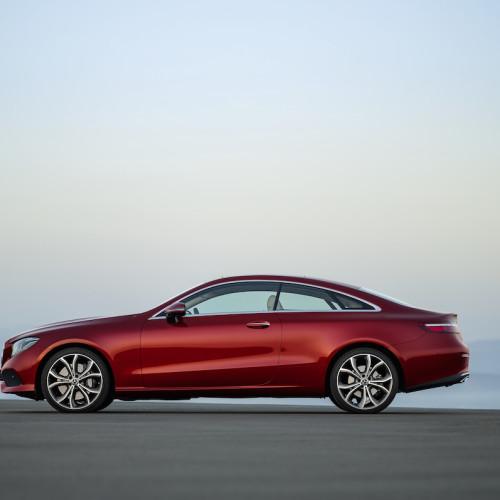 Fahrbericht : Mercedes E 400 d Coupé im Test: Bestes Kaufargument? Die Reichweite!