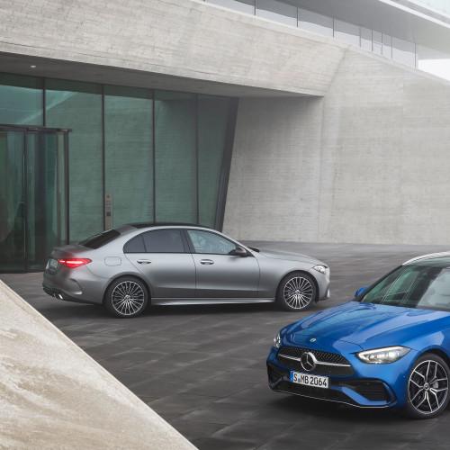 Mercedes C-Klasse (2021): So sieht die kleine S-Klasse aus