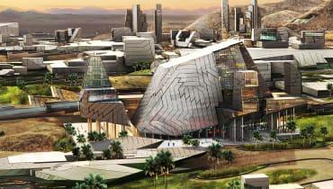 Ein Krypto-Millionär plant eine Blockchain-Stadt in der Wüste