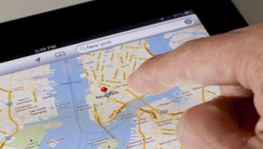 Google Maps beschreibt Wege mit Orientierungspunkten