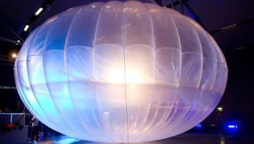 Ein abgestürzter Google-Loon-Ballon wurde für ein UFO gehalten