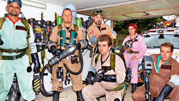 Who you gonna call? The German Ghostbusters!
