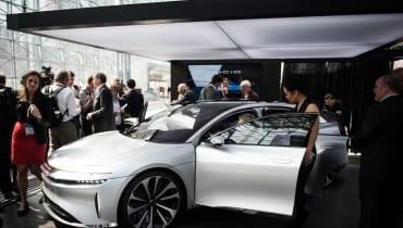 Saudi-Arabien investiert eine Milliarde US-Dollar in Lucid Motors