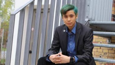 Er ist 17 und baut ein Hacker-Startup auf