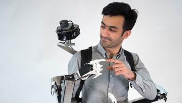 Ein Roboter-Rucksack soll die Telepräsenz revolutionieren