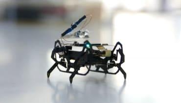 Rolls Royce entwickelt insektenartige Roboter zur Flugzeug-Inspektion
