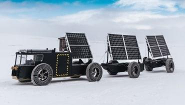 Ein Ehepaar will mit einem 3D-Druck-Truck und Solarkraft zum Südpol fahren
