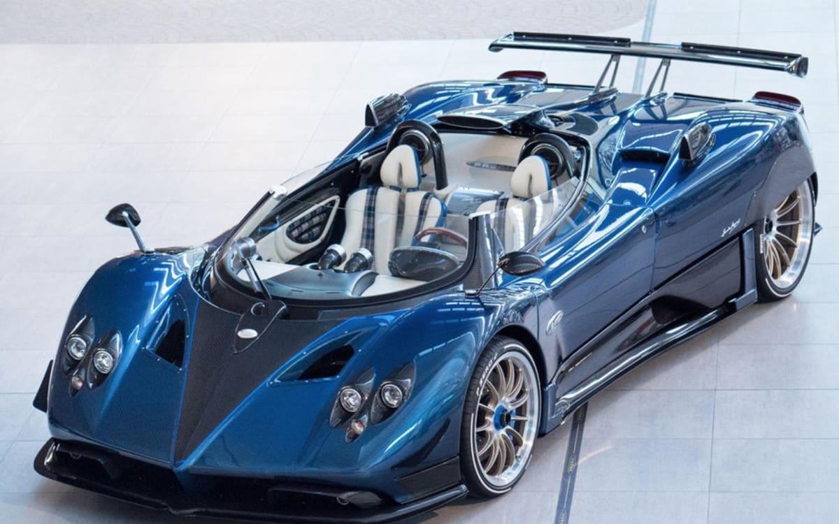 Pagani zonda hp barchetta das teuerste auto der welt auto