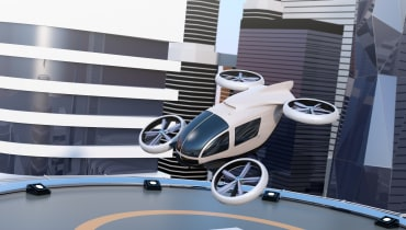 Uber plant ein Flugtaxi-Labor in Paris