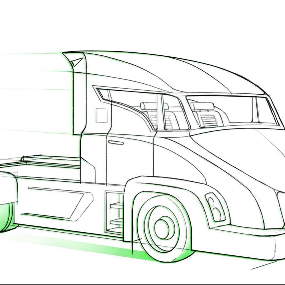 Im Jahr 2029 werden autonome Elektro-LKW unterwegs sein, aber nur auf kurzen Strecken | WIRED Germany