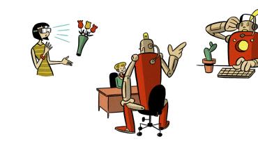 """""""Arbeit definiert unsere Identität"""": Ein Soziologe über die Angst vorm Roboterbüro"""
