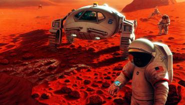 WIRED empfiehlt: 13 Romane über den Mars, die ihr lesen solltet!