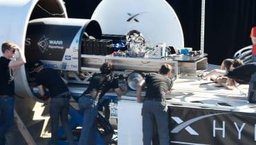 Münchener Studenten knacken den Hyperloop-Geschwindigkeitsrekord