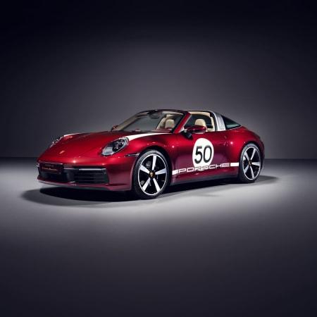 Porsche-Sonderedition : Limitierte Auflage: Der Porsche 911 Targa als Heritage Design Edition