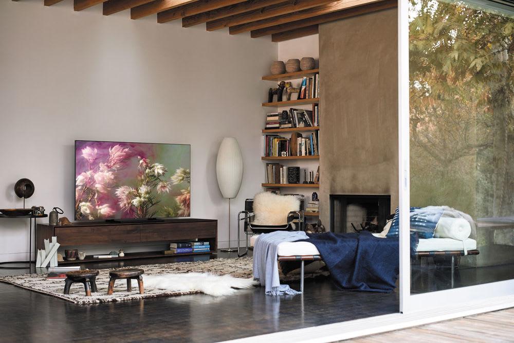 So Lasst Samsung Den Fernseher Aus Dem Wohnzimmer