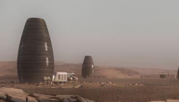 Die ersten Mars-Siedler könnten in riesigen Vasen leben