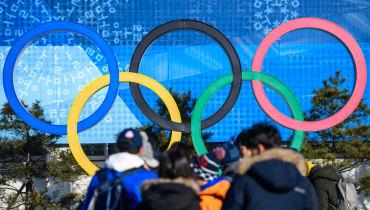 Ein Virus sollte die Olympischen Winterspiele stören