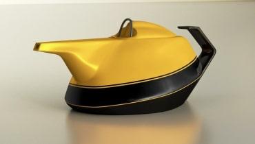 Weil Renault vor 40 Jahren versagte, hat diese Teekanne einen Überrollbügel