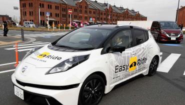 Nissans autonome Fahrzeuge sollen Kunden ins Einkaufszentrum bringen
